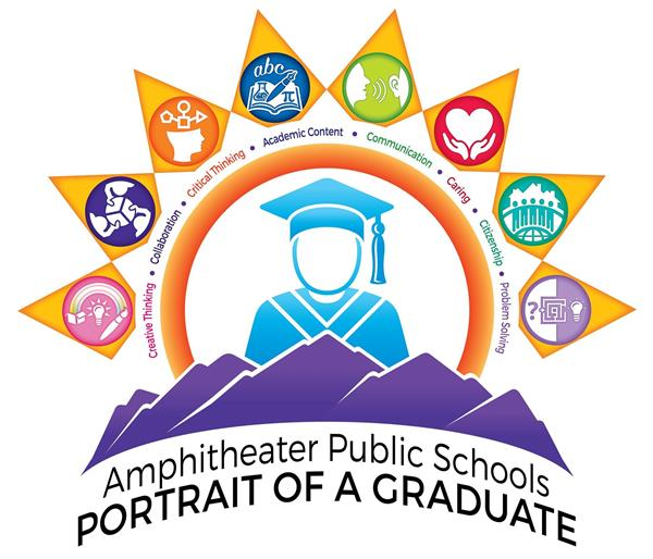 Portrait of a graduate logo