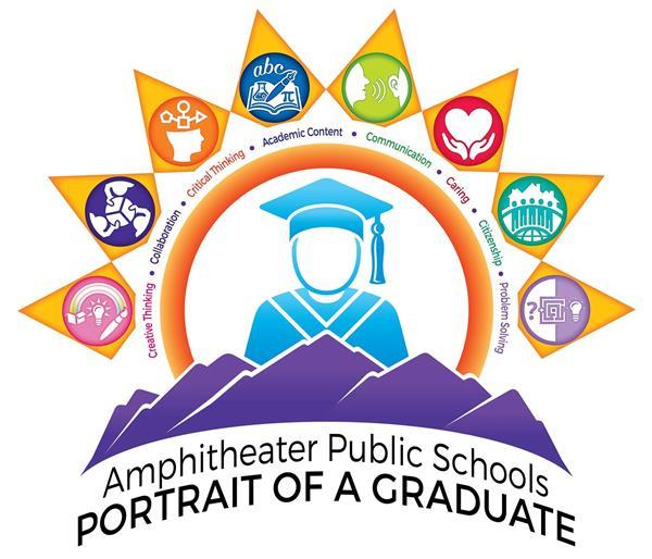 Portrait of a graduate logo