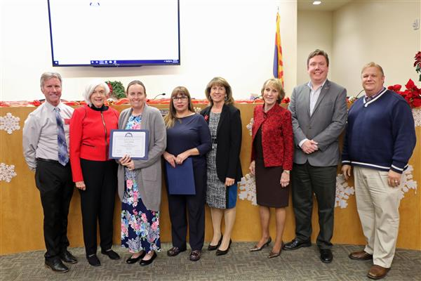 Mrs. Lauren Marlatt Honored with Distinguished Service Award