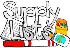 Teacher Supply Lists