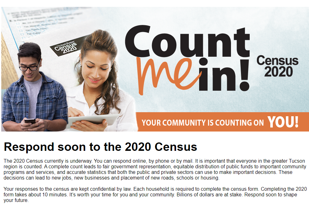Support the Harelson Community by Completing the US Census!