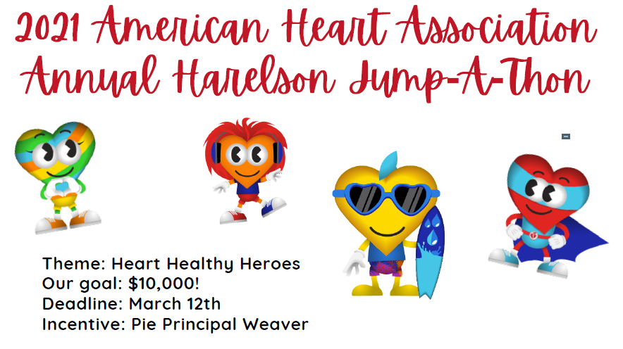 2021 American Heart Association Annual Harelson Jump-A-Thon
