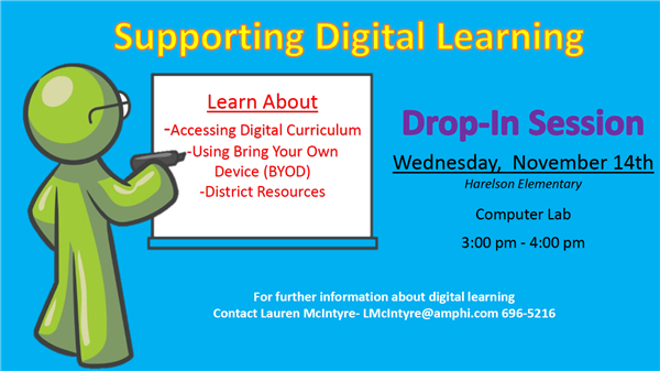 Supporting Digital Learning