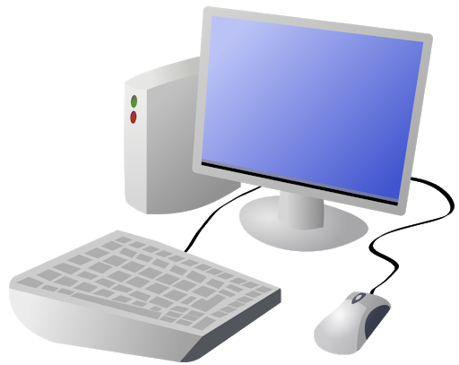 Image of a desktop computer