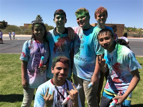 2nd Annual LCMS Color Run!