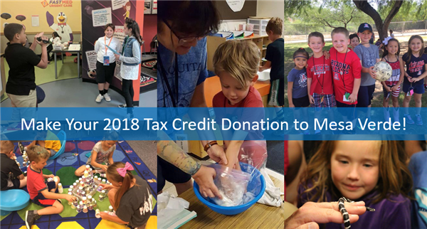 2019 Tax Credits and Donations