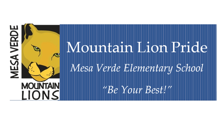 Mesa Verde Mountain Lion Logo