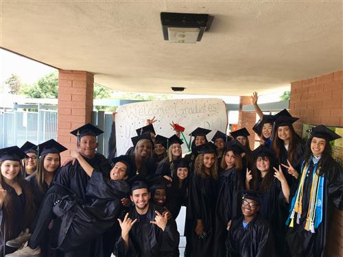 Amphitheater High School Graduates visit Nash
