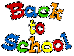 Welcome Back!                           Classes Start August 8