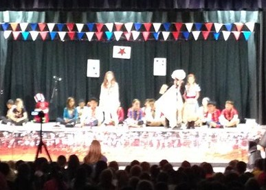 3rd Grade Patriotic Performance