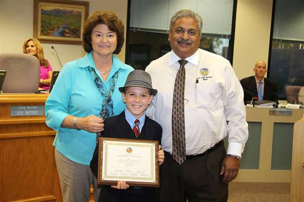 Wilson Student Recognized for Making a Difference