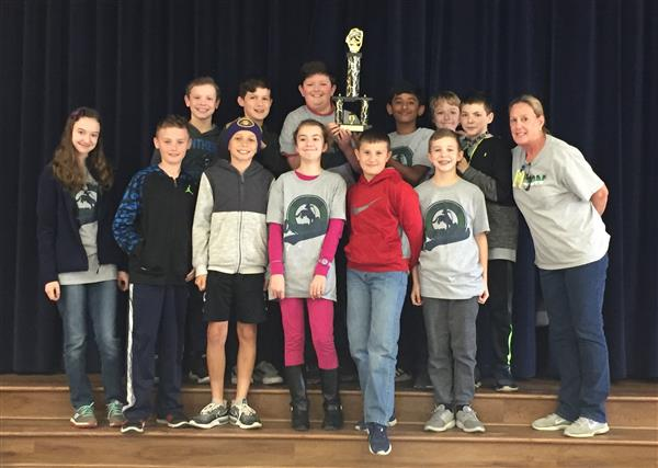 Wilson Students are District 6 Math League Regional Champions!