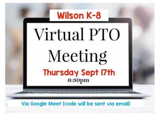 PTO Meeting Sept. 17th