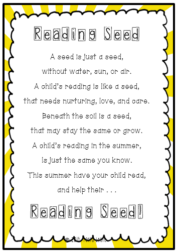 Reading Seed Summer