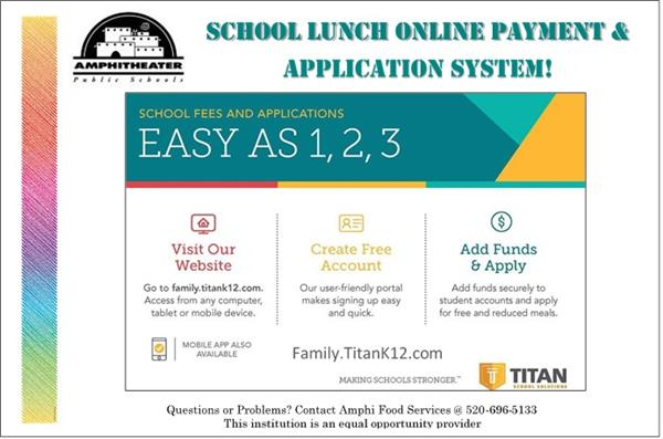 School Lunch Online Payment & Application System