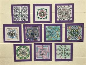 Third Grade Rotational Symmetry Names