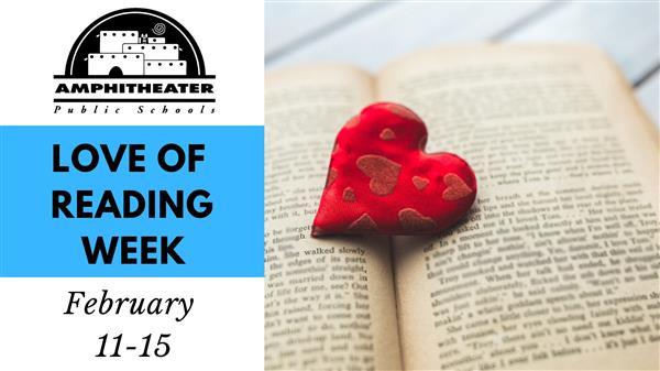 Love of reading week is February 11-15