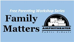 Free parenting workshop: Family Matters