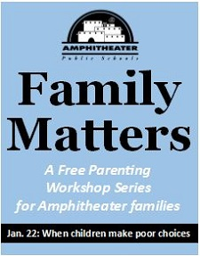 Family Matters Workshop: Register today!