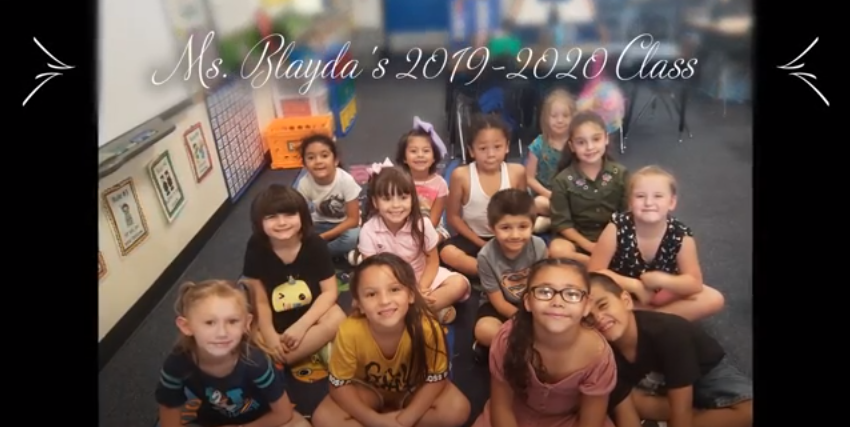 Keeling Elementary Teacher's End-of-Year Video