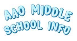 AAO Middle School Info