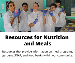 resources for meals