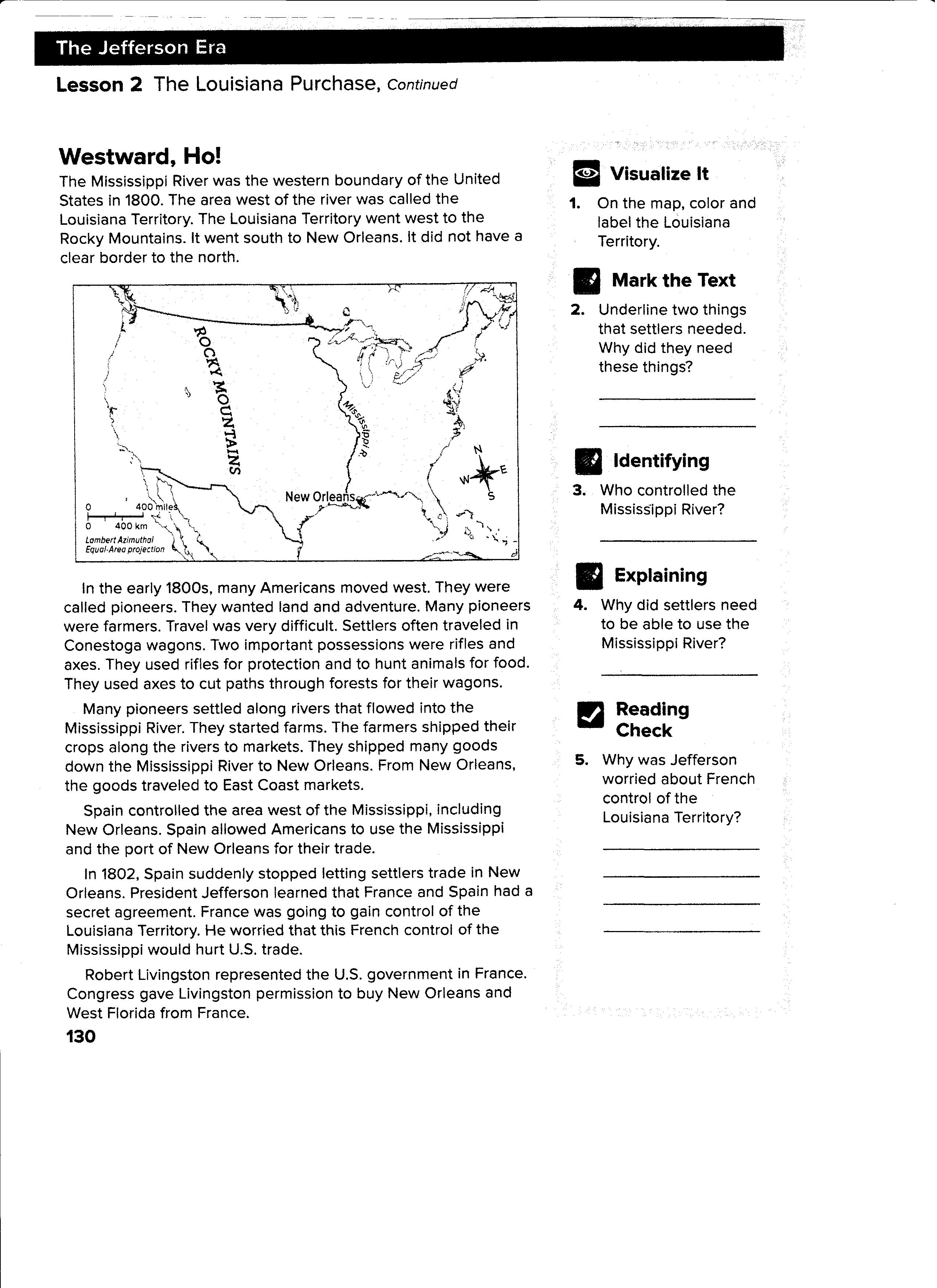 worksheet louisiana purchase worksheet grass fedjp worksheet study site. Black Bedroom Furniture Sets. Home Design Ideas