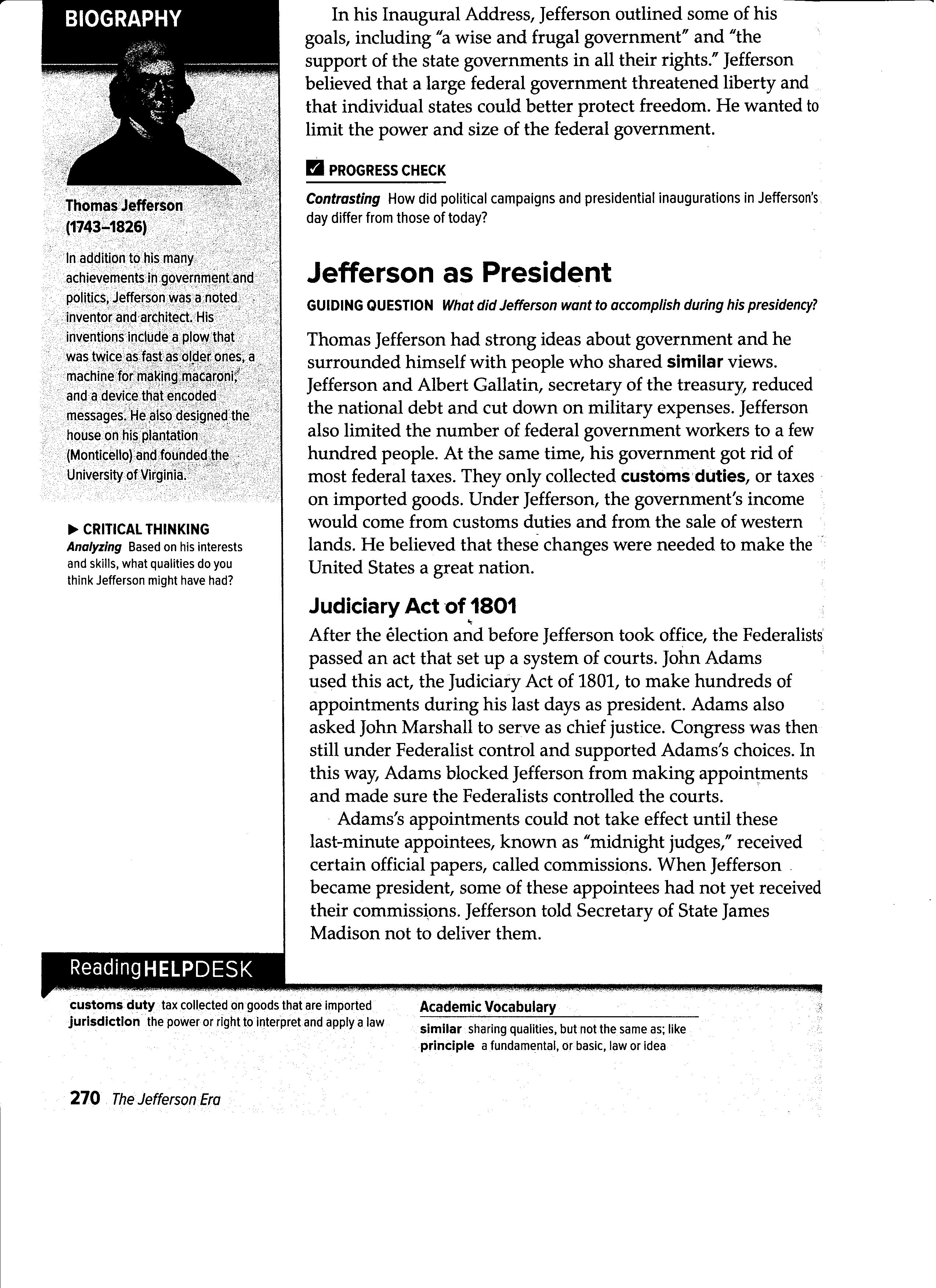 Worksheets Interpreting The Bill Of Rights Worksheet obregon jose homework 2 hw read pages 270 271 by tomorrow begin at jefferson as president