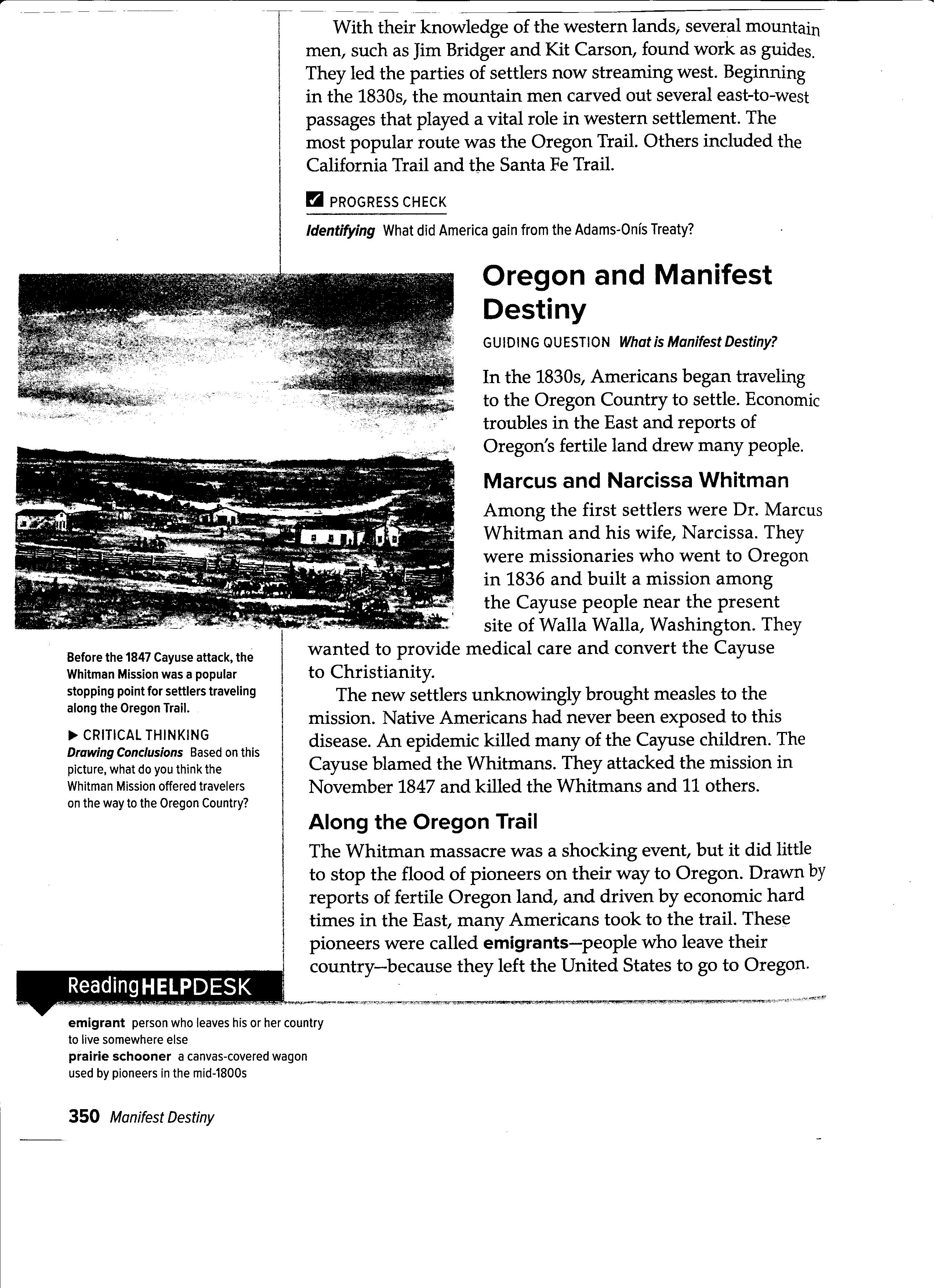worksheet Manifest Destiny Worksheet obregon jose notes assignments ch 13 lesson 1 3 activity activity