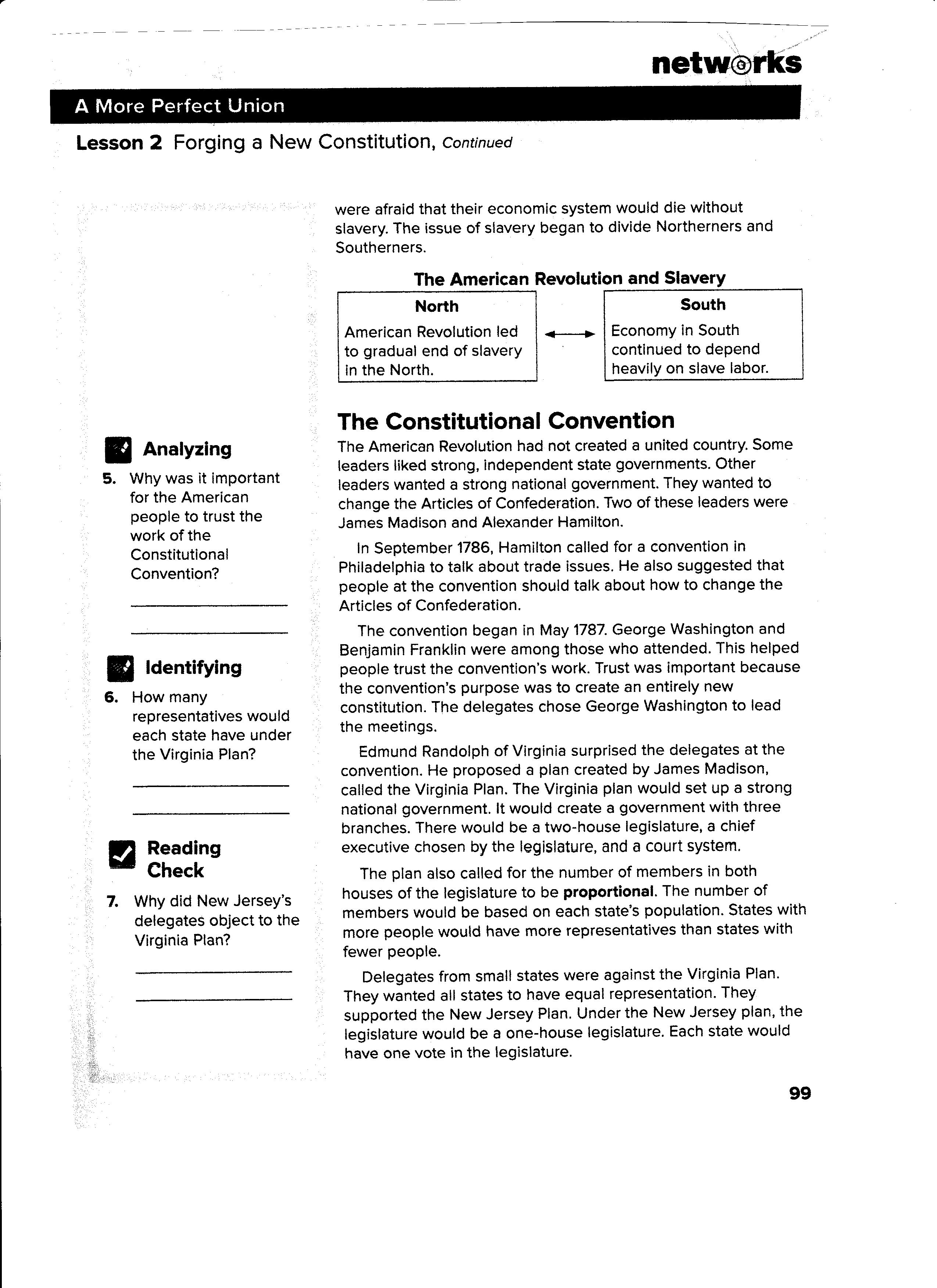 100+ [ The Us Constitution Worksheet Answers ] | Ch 6 Federalism ...