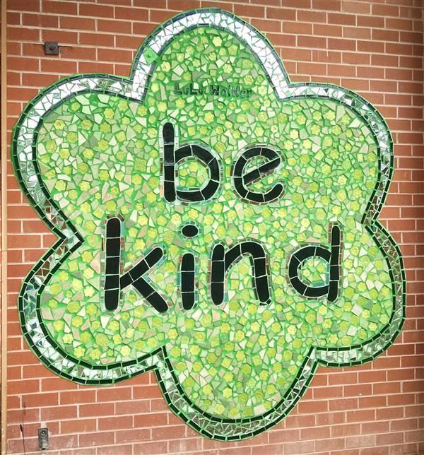 Be Kind tile