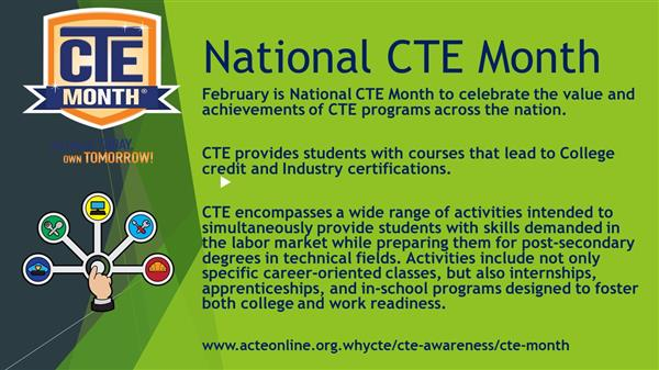 National CTE Month