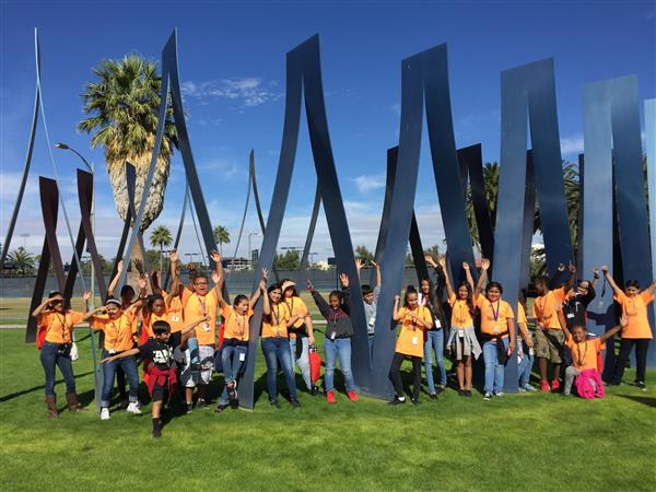 6th Grade AVID students toured the U of A on Friday